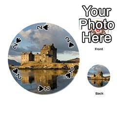 Eilean Donan Castle Playing Cards 54 (round)