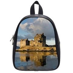 Eilean Donan Castle School Bags (small)  by trendistuff