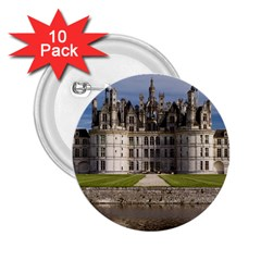 CHAMBORD CASTLE 2.25  Buttons (10 pack)  by trendistuff