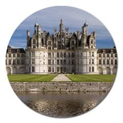 Chambord Castle Magnet 5  (round) by trendistuff
