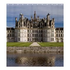 Chambord Castle Shower Curtain 66  X 72  (large)  by trendistuff