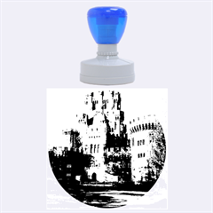 Butron Castle Rubber Round Stamps (large)