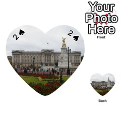 Buckingham Palace Playing Cards 54 (heart)