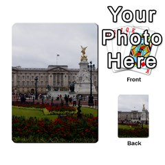 Buckingham Palace Multi Purpose Cards (rectangle)