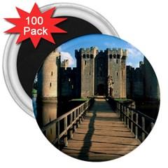 Bodiam Castle 3  Magnets (100 Pack) by trendistuff