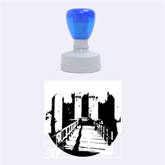 Bodiam Castle Rubber Round Stamps (medium)