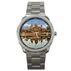 Angkor Wat Sport Metal Watches by trendistuff