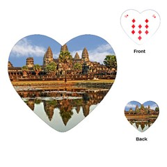 Angkor Wat Playing Cards (heart)  by trendistuff