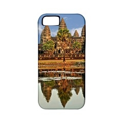 Angkor Wat Apple Iphone 5 Classic Hardshell Case (pc+silicone) by trendistuff
