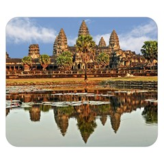 Angkor Wat Double Sided Flano Blanket (small)  by trendistuff