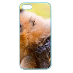 Two Monkeys Apple Seamless Iphone 5 Case (color) by trendistuff