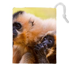 Two Monkeys Drawstring Pouches (xxl) by trendistuff