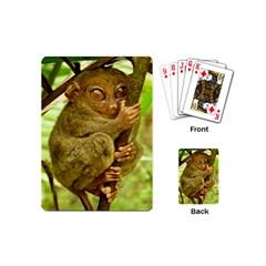Tarsier Playing Cards (mini)  by trendistuff