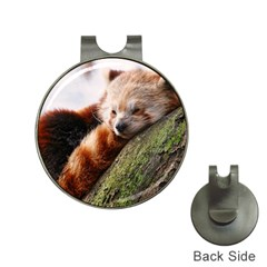 Red Panda Hat Clips With Golf Markers by trendistuff