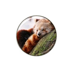 Red Panda Hat Clip Ball Marker (10 Pack) by trendistuff