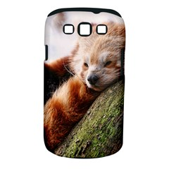 Red Panda Samsung Galaxy S Iii Classic Hardshell Case (pc+silicone) by trendistuff