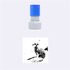 Meerkat Rubber Round Stamps (small) by trendistuff