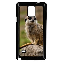 Meerkat Samsung Galaxy Note 4 Case (black) by trendistuff