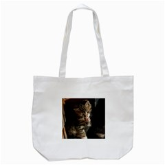 Talk To The Paw Tote Bag (white)  by trendistuff