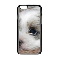 Sad Puppy Apple Iphone 6/6s Black Enamel Case by trendistuff