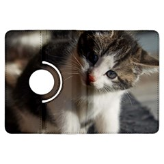 QUESTIONING KITTY Kindle Fire HDX Flip 360 Case by trendistuff