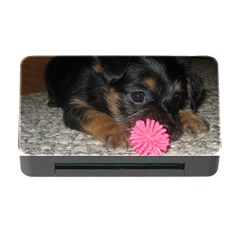 Puppy With A Chew Toy Memory Card Reader With Cf by trendistuff