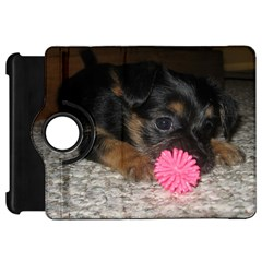 PUPPY WITH A CHEW TOY Kindle Fire HD Flip 360 Case by trendistuff