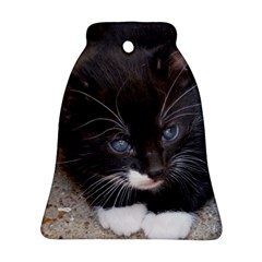 KITTY IN A CORNER Bell Ornament (2 Sides) by trendistuff