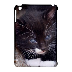 KITTY IN A CORNER Apple iPad Mini Hardshell Case (Compatible with Smart Cover) by trendistuff