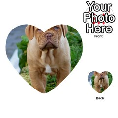 Cute Wrinkly Puppy Multi Purpose Cards (heart)  by trendistuff