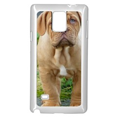 Cute Wrinkly Puppy Samsung Galaxy Note 4 Case (white) by trendistuff