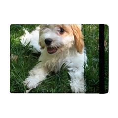 Cute Cavapoo Puppy Apple Ipad Mini Flip Case by trendistuff