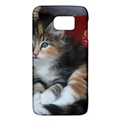 Comfy Kitty Galaxy S6 by trendistuff