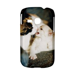 CALICO CAT AND WHITE KITTY Samsung Galaxy S6310 Hardshell Case by trendistuff