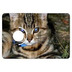 Blue Eyed Kitty Kindle Fire Hdx Flip 360 Case by trendistuff