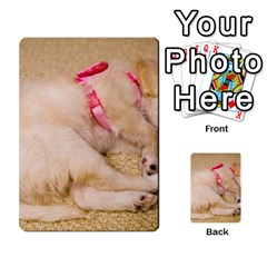Adorable Sleeping Puppy Multi Purpose Cards (rectangle)