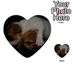 Adorable Baby Puppies Multi Purpose Cards (heart)  by trendistuff