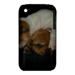Adorable Baby Puppies Apple Iphone 3g/3gs Hardshell Case (pc+silicone) by trendistuff