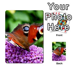 Peacock Butterfly Multi Purpose Cards (rectangle)  by trendistuff