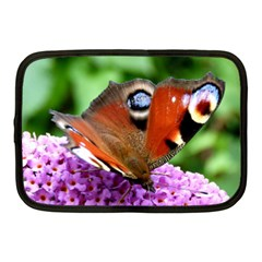 Peacock Butterfly Netbook Case (medium)  by trendistuff