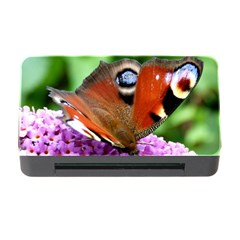 Peacock Butterfly Memory Card Reader With Cf by trendistuff