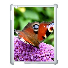 Peacock Butterfly Apple Ipad 3/4 Case (white) by trendistuff