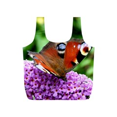 Peacock Butterfly Full Print Recycle Bags (s)  by trendistuff