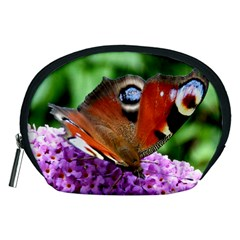 Peacock Butterfly Accessory Pouches (medium)  by trendistuff
