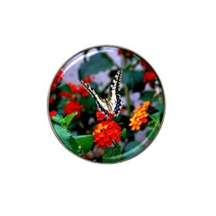 BUTTERFLY FLOWERS 1 Hat Clip Ball Marker (10 pack) by trendistuff