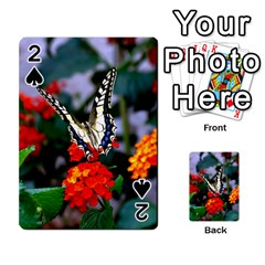 Butterfly Flowers 1 Playing Cards 54 Designs
