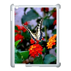 Butterfly Flowers 1 Apple Ipad 3/4 Case (white) by trendistuff