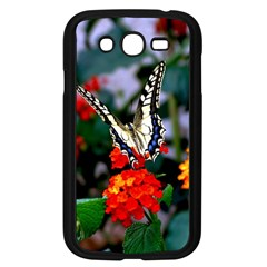 Butterfly Flowers 1 Samsung Galaxy Grand Duos I9082 Case (black) by trendistuff
