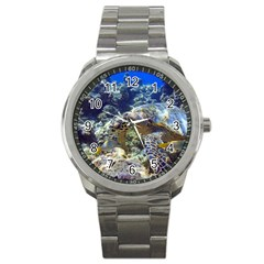Sea Turtle Sport Metal Watches by trendistuff