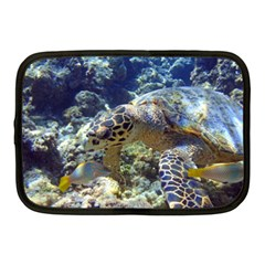 Sea Turtle Netbook Case (medium)  by trendistuff